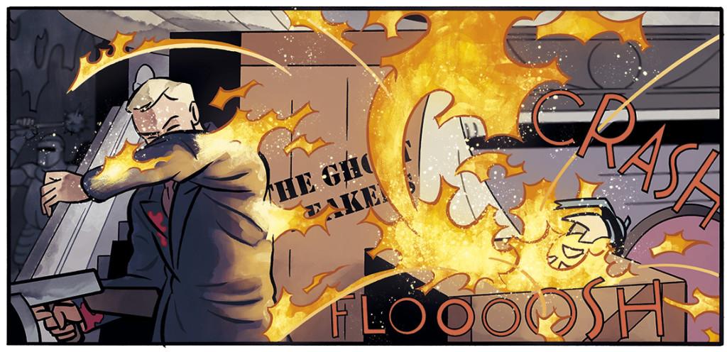Acción y espionaje en el cómic OBJETIVO HEDY LAMARR