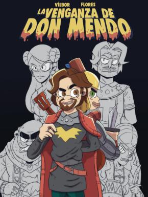cómic sobre el libro La venganza de Don Mendo