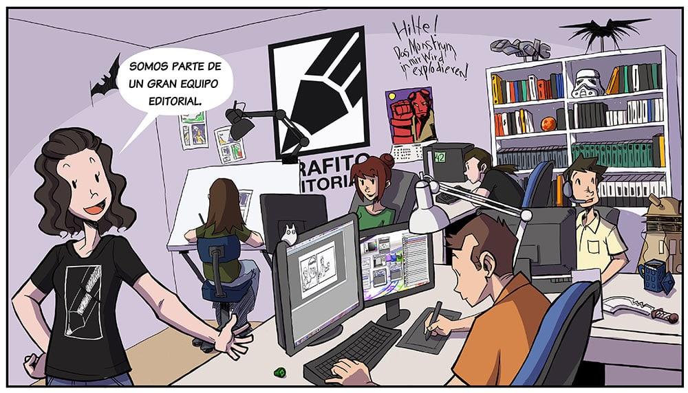 Somos parte de un gran equipo editorial.