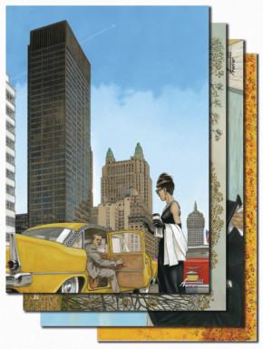 Set de láminas del cómic Mies