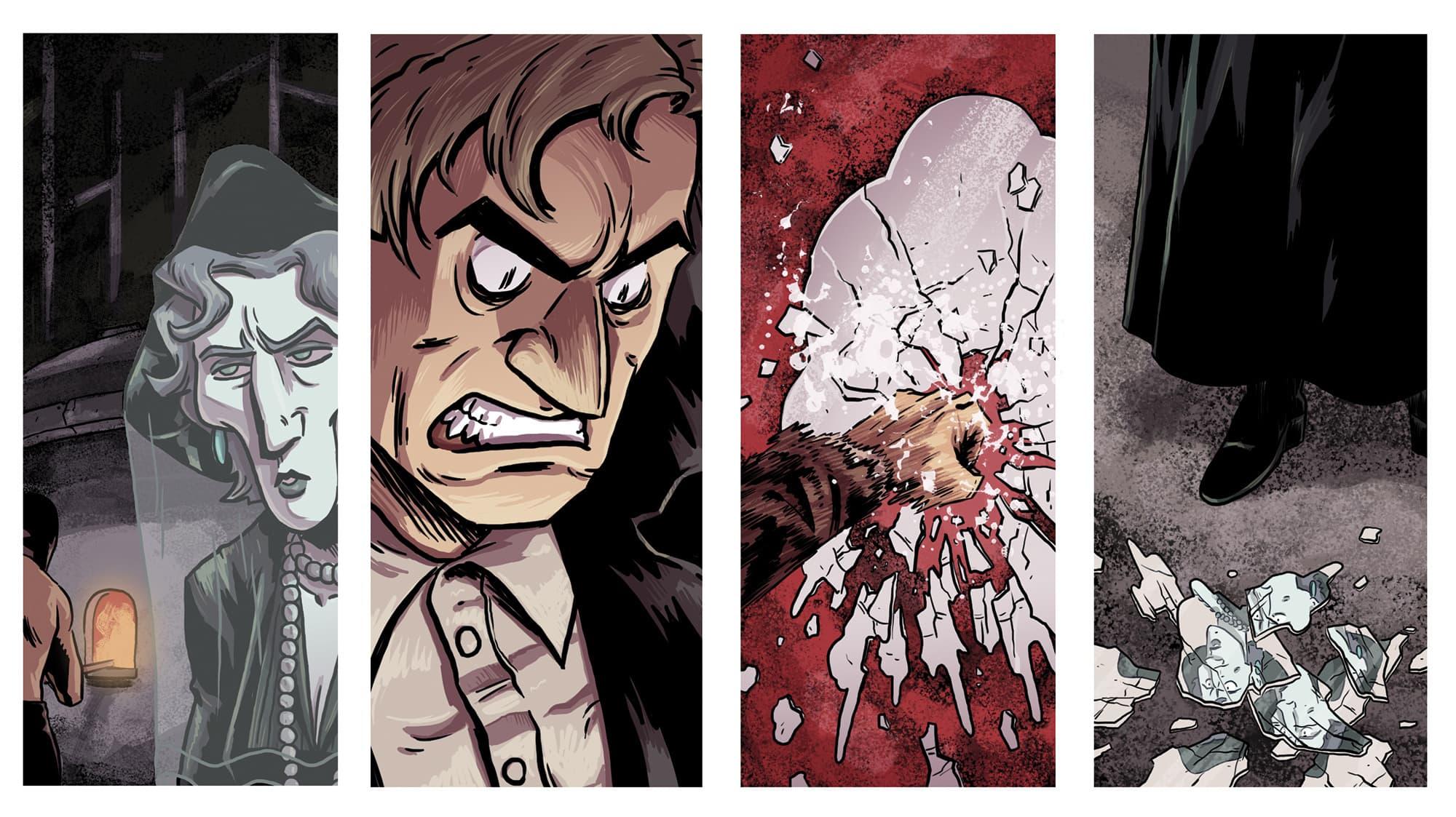 Diego Felgueroso es el protagonista del cómic de terror SATANELA