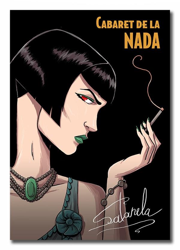 Satanela, mujer misteriosa que juega con el Ocultismo