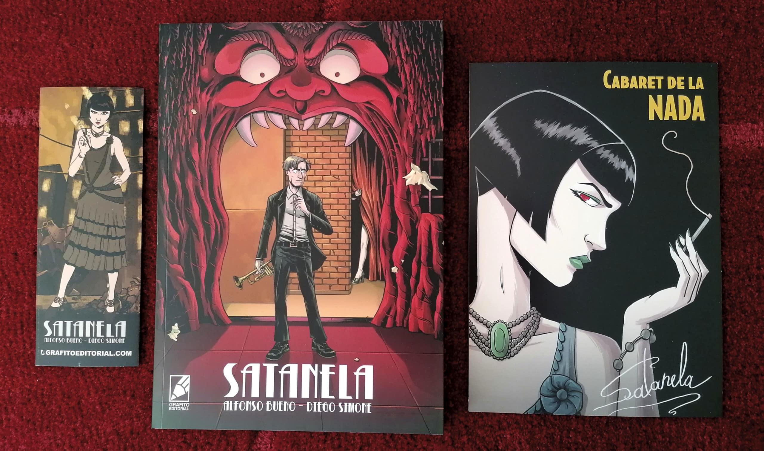 Satanela es un cómic de misterio y ocultísmo que ocurre en Madrid