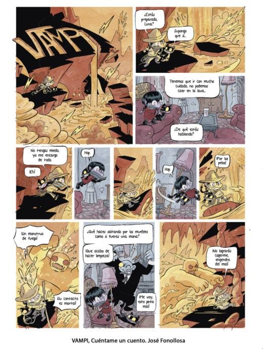 Vampi, un cómic de Jose Fonollosa