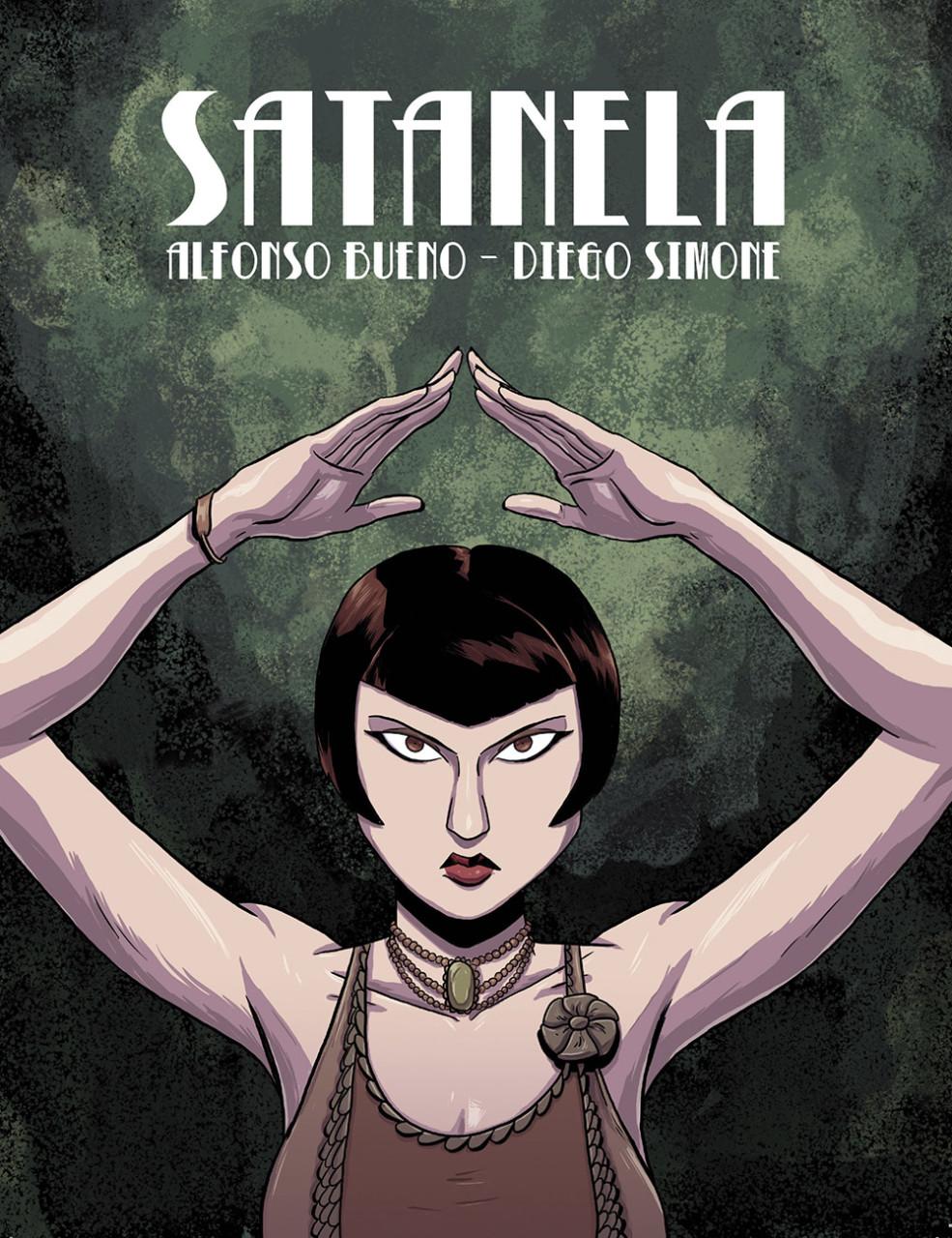 Satanela es la protagonista de un cómic de terror en el Madrid de 1920