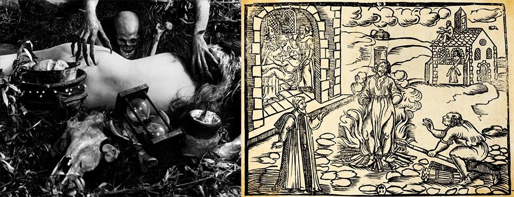 Benjamin Christensen en la película silente de 1922 La brujería a través de los tiempos