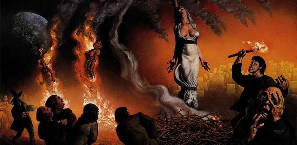 Manuscritos de la plaga, un cómic de Richard Corben. Brujas, fuego y terror.