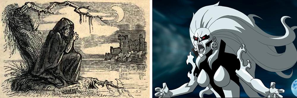 Bansee en la mitología y en el cómic
