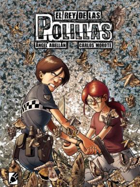 Portada del cómic El Rey de las polillas de Carlos Morote y Angel Abellán