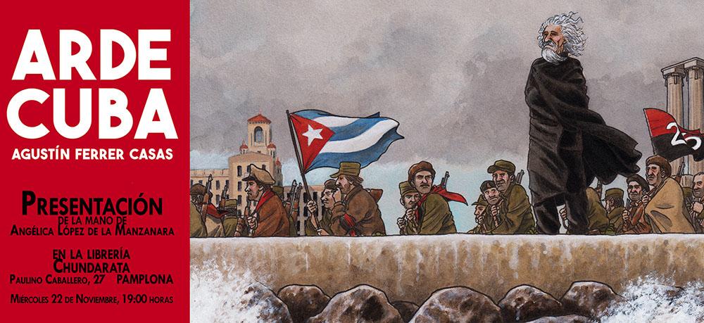Arde Cuba Presentación Chundarata