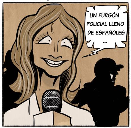 Ama Rosa desde la comisaría de Montecarlo CHORIZOS Atraco a la española