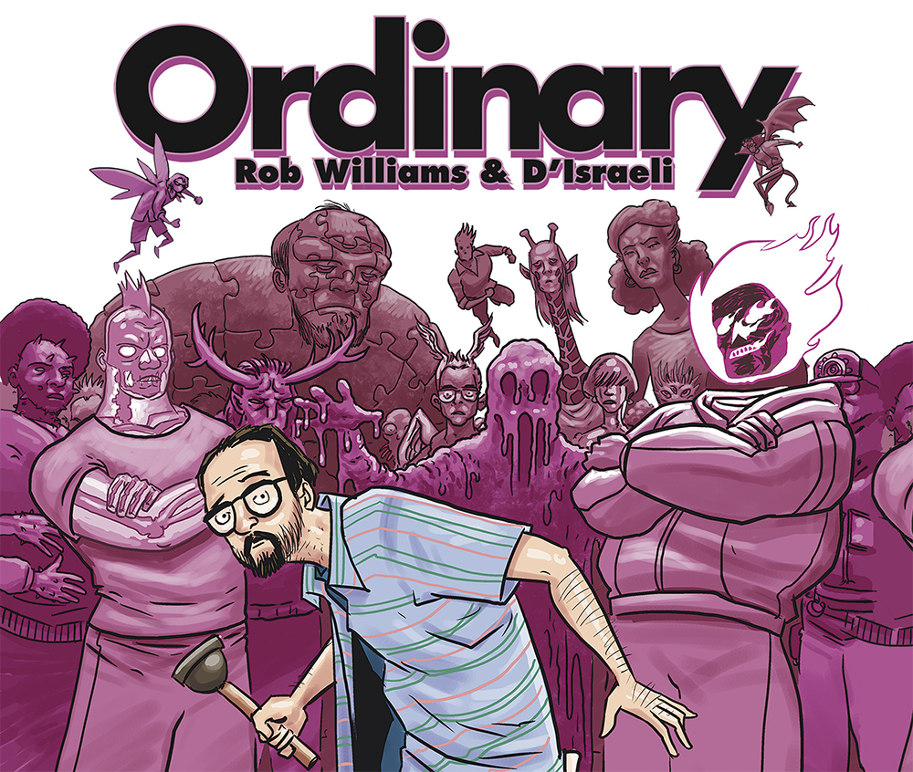 COMIC ORDINARY GRAFITO EDITORIAL