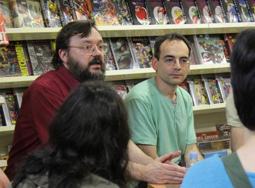 Díaz Canales y Fonteriz en Gotham Comics 02