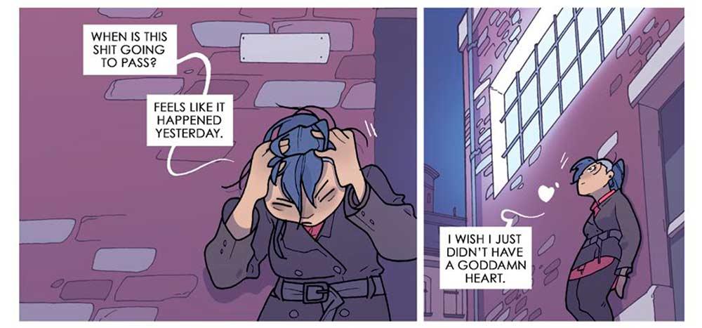 """""""Descorazonada"""" es el nuevo cómic de GRAFITO EDITORIAL, antes llamado  Heart in a Box"""