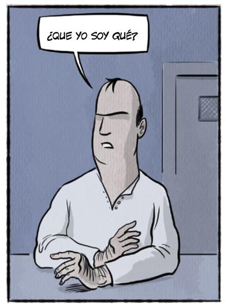 Frank Picazo protagonista del comic Chorizos atraco a la española