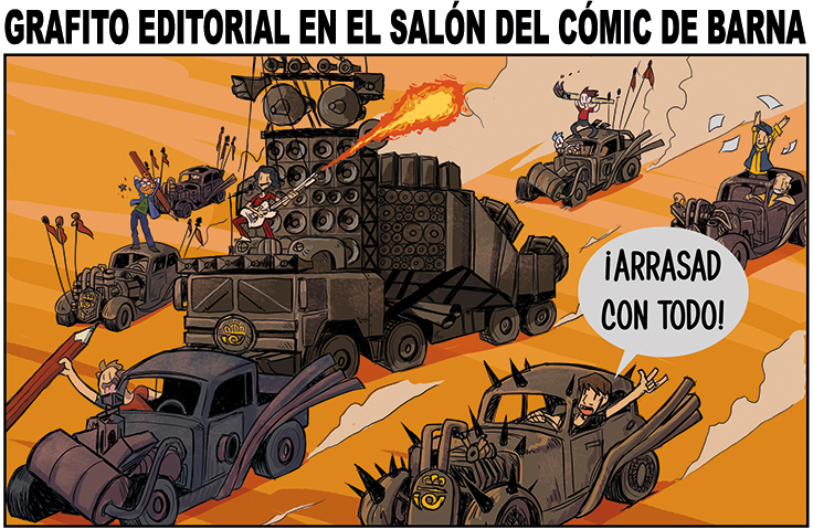 Grafito Editorial Arrasa en el SALÓN DEL COMIC DE BARCELONA