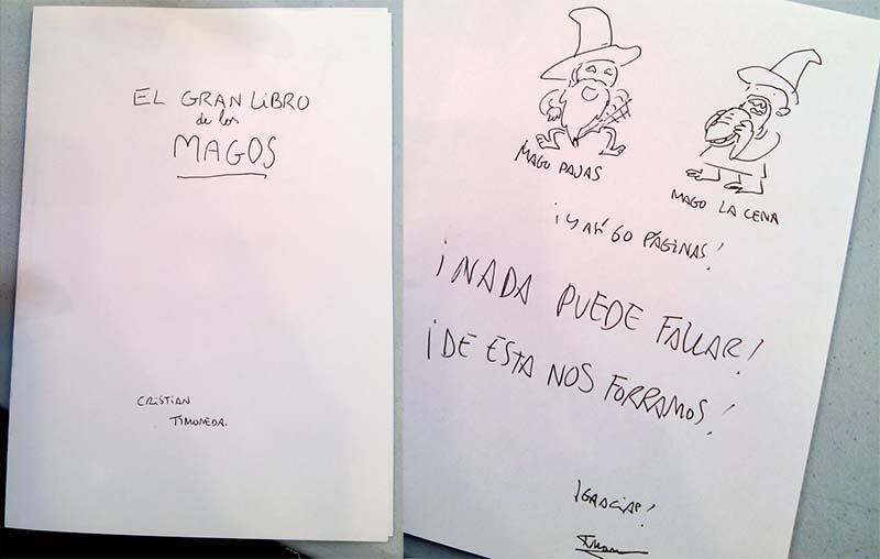 GRAN LIBRO DE LOS MAGOS TIMONEDA ORIGINAL