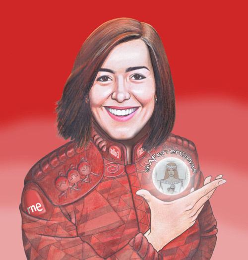 Ilustración de Agustín Ferrer para el programa de COMIC la hora del bocadillo,