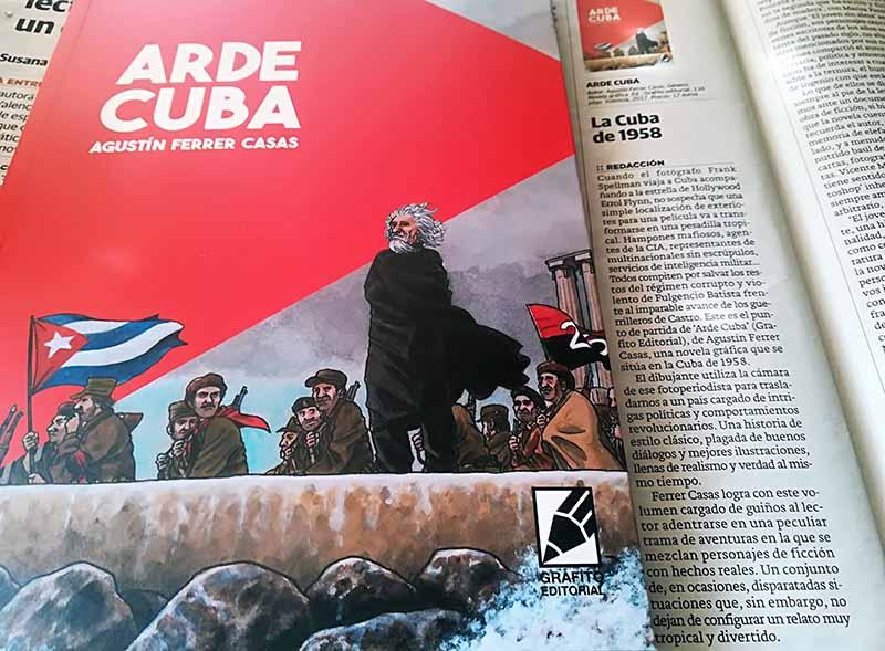 LAS PROVINCIAS ARDE CUBA RESEÑA