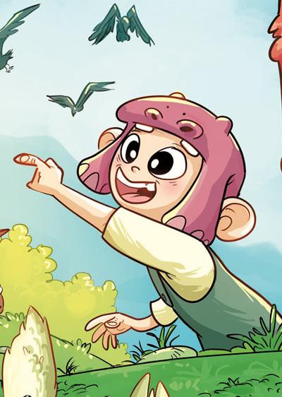 Mic, protagonista del cómic VIAJE A XAMBALA