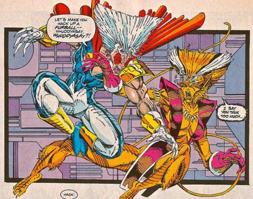 Dialogos de Nizieta para el cómic X ForceNizieta x force