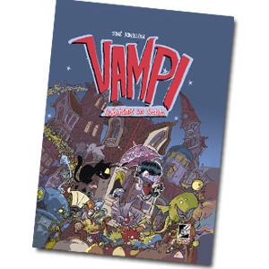 Vampi cuentame un cuento es un cómic infantil de aventuras y vampiros
