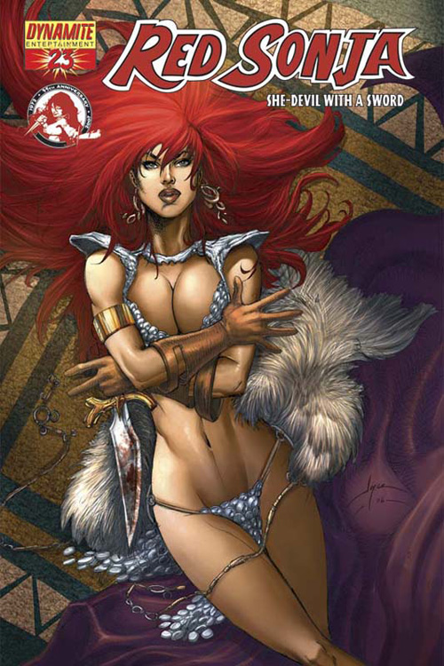 Red Sonja Chin Cover