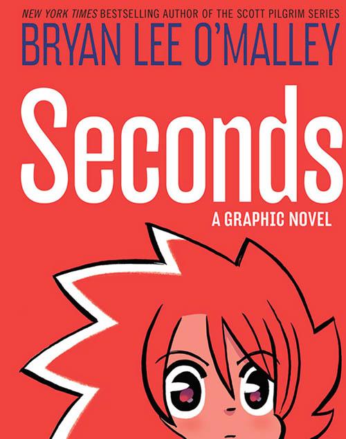 portada del cómic SECONDS de Bryan Lee O'Malley