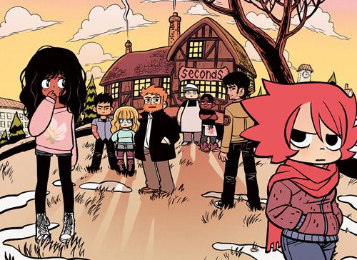 personajes de el cómic SECONDS de Bryan Lee O'Malley