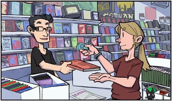 tienda de cómic Gotham