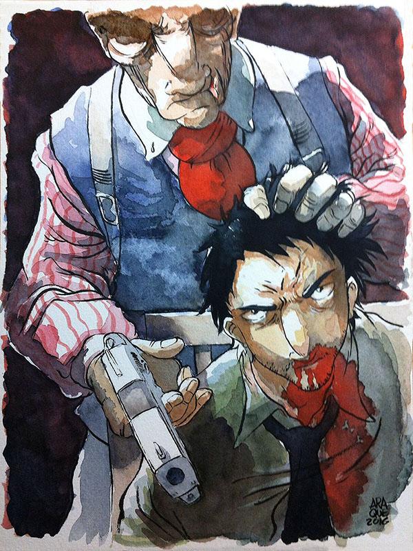 Buckson, novela grafica de Victor Araque