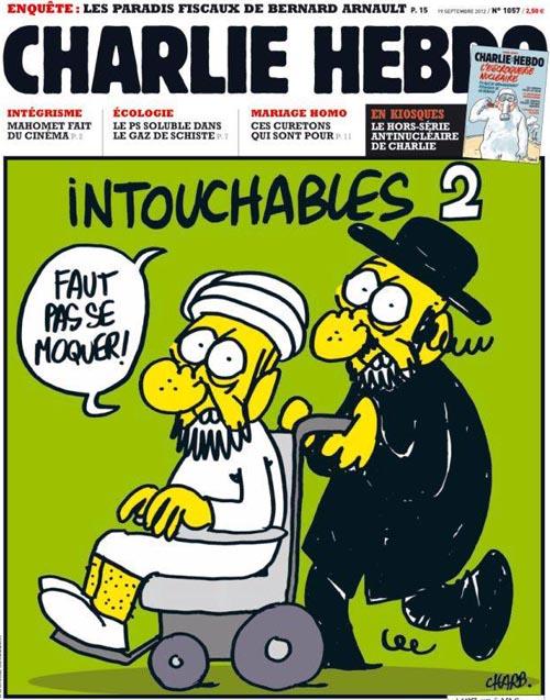 cómic Charlie Hebdo