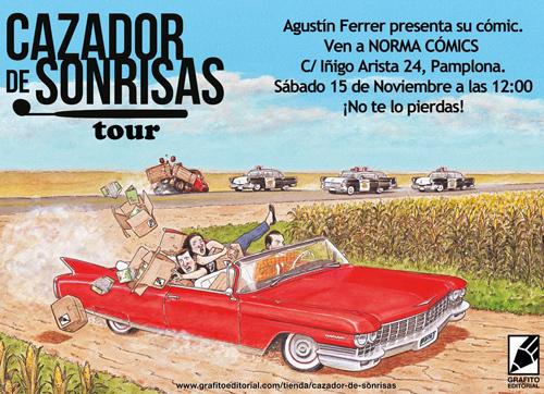 cazador_de_sonrisas_Pamplona_norma_comic