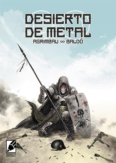 Portada del cómic Desierto de metal. Una ucronia de ciencia ficción. Robots contra Nazis