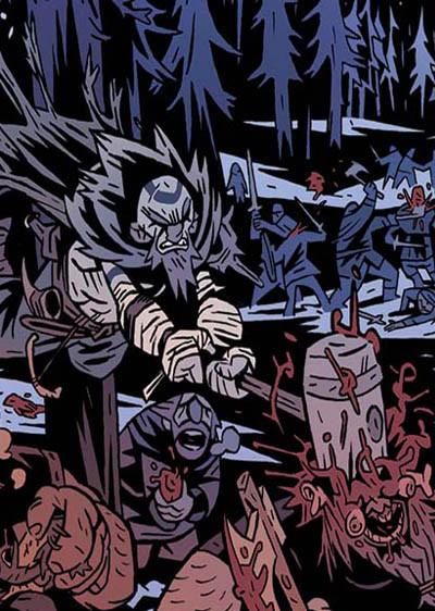 Cómic EL REY ARAÑA. Vikingos contra alienígenas