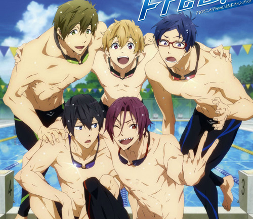 . Serie de anime sobre natación