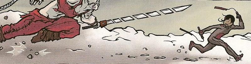 Glory. Un cómic de Joe Keatinge y Ross Campbell. toca correr.
