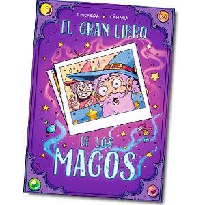 El Gran Libro de los Magos es un cómic de Sabrina Cámara Y Cristian Timoneda