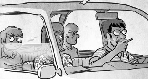 Viñeta de el comic LO PRIMERO QUE ME VIENE A LA MENTE de Juaco Vizuete