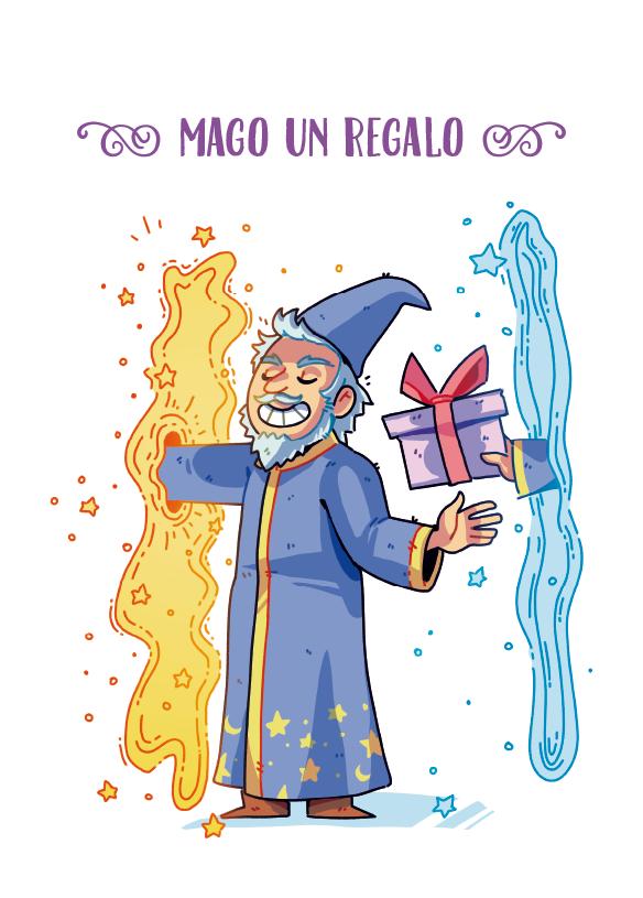 mago-un-regalo el gran libro de los magos comic