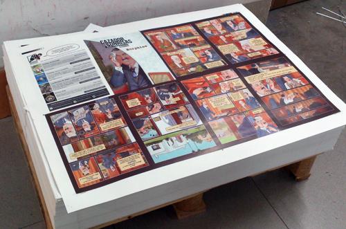 Ya están impresos los ejemplares de Morphine, la historia complementaria de el cómic Cazador de sonrisas que regalaremos a los primeros que compren el cómic