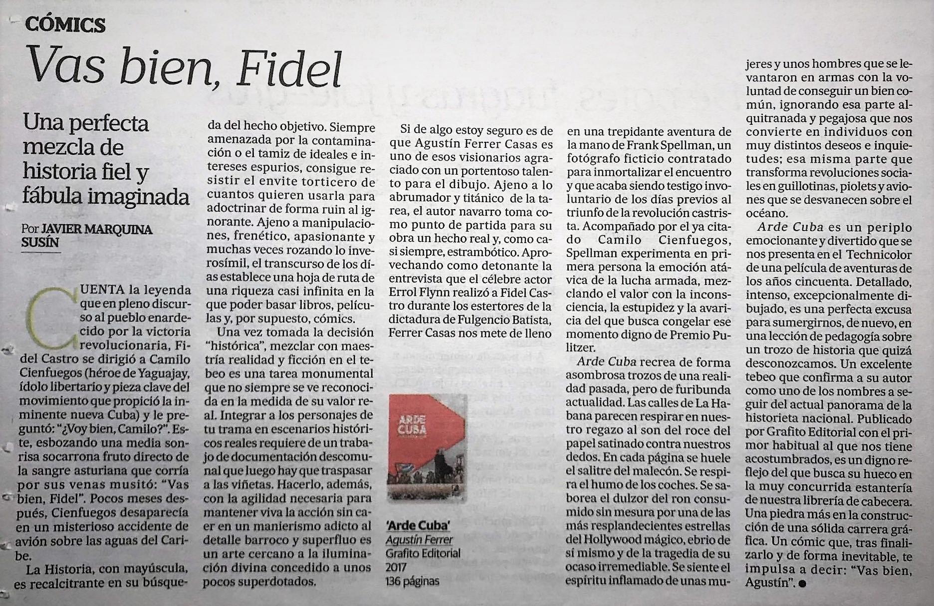 Diario de Aragón Arde Cuba