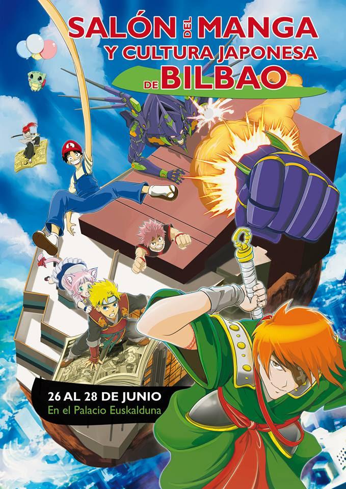 poster del salon manga de bilbao