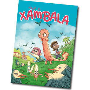 portada pequeña del cómic viaje a xambala
